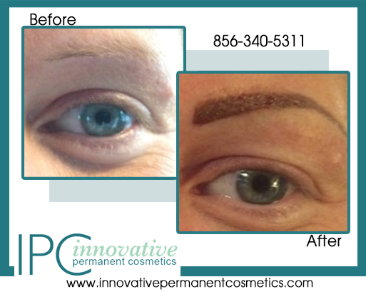 Permanent eyebrow microblading procedure south jersey and for Eyebrow tattoo aftercare instructions